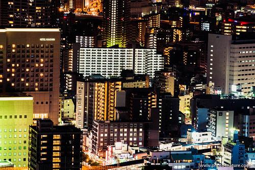 Osaka Cityscape by Night | FE 70-200 f2.8 GM @ 1 sec, f8