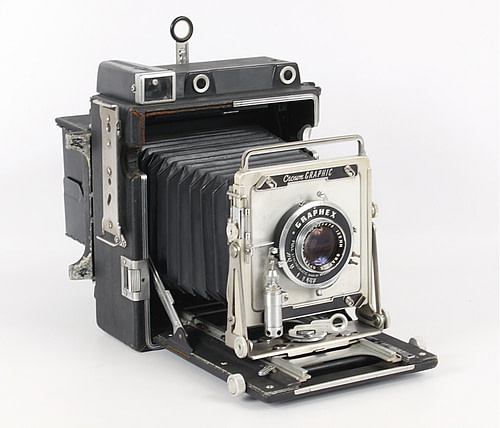 Pacemaker Crown Graphic 4x5 Large Format Camera