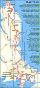 Map Skye Trail